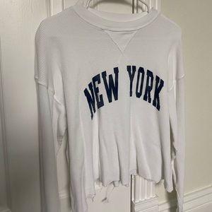 brandy melville new york shirt